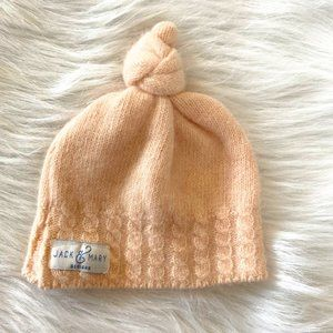 Jack & Mary Blush Pink Recycled Cashmere Baby Hat
